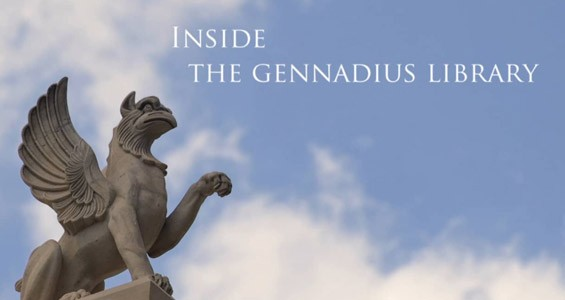 Inside the Gennadius Library