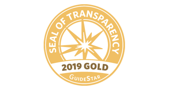 GuideStar's 2019 Gold Seal of Transparency