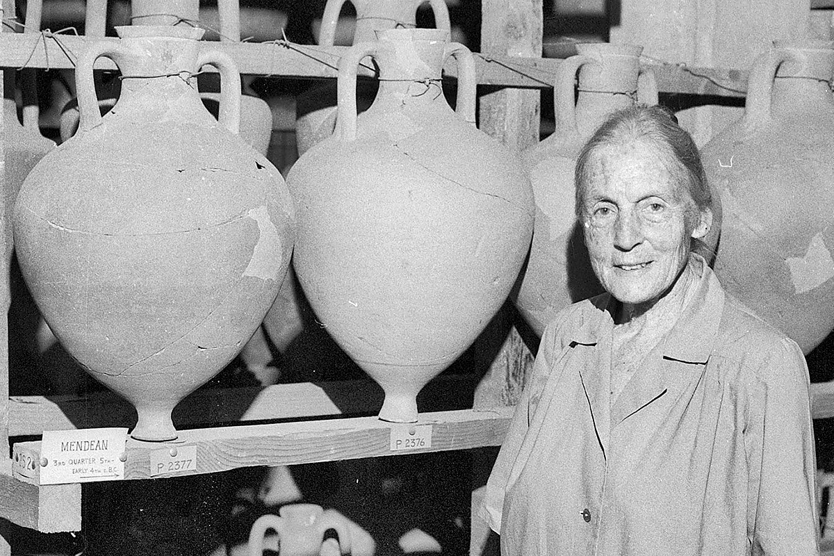 Virginia Grace with Amphoras
