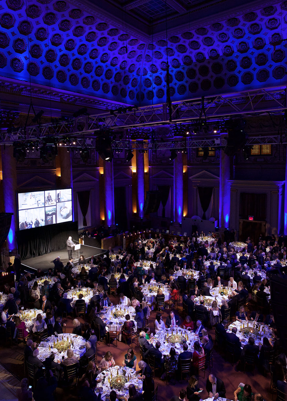 Aerial View of Gala 2019 at the Capitale