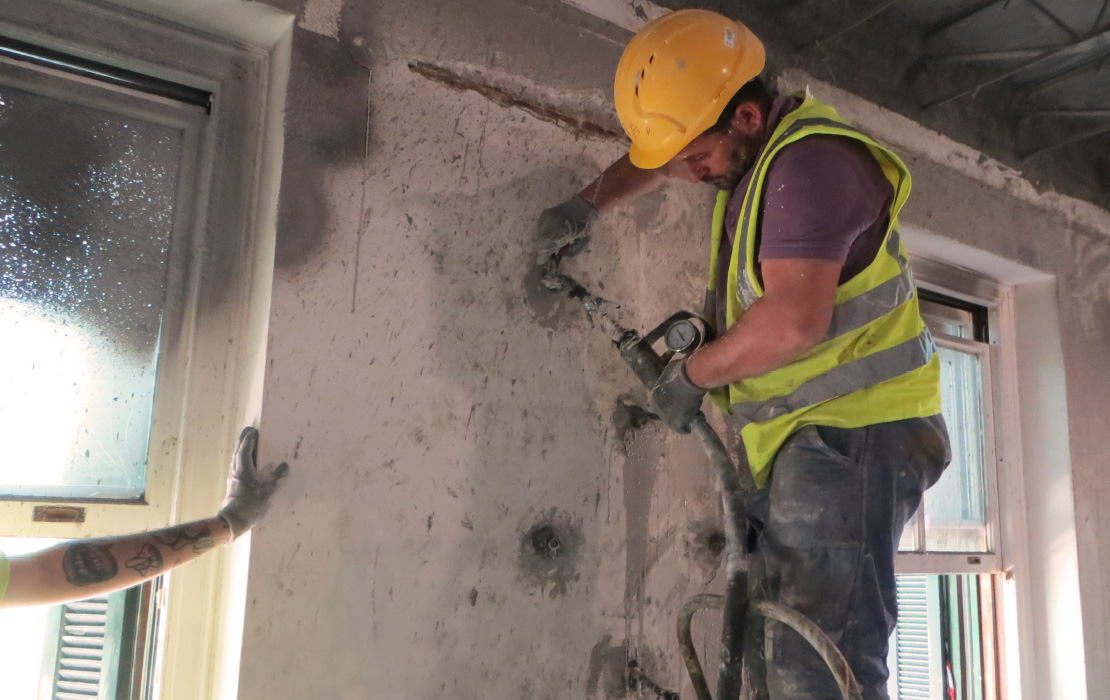Strengthening the Walls of the Annex