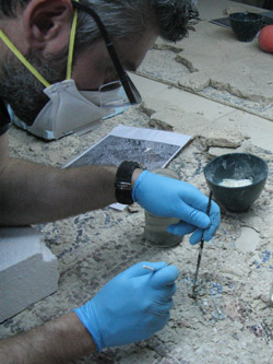 Eutychia Mosaic Conservation