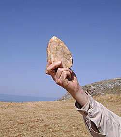 Plakias Survey Finds Mesolithic and Palaeolithic Artifacts on Crete