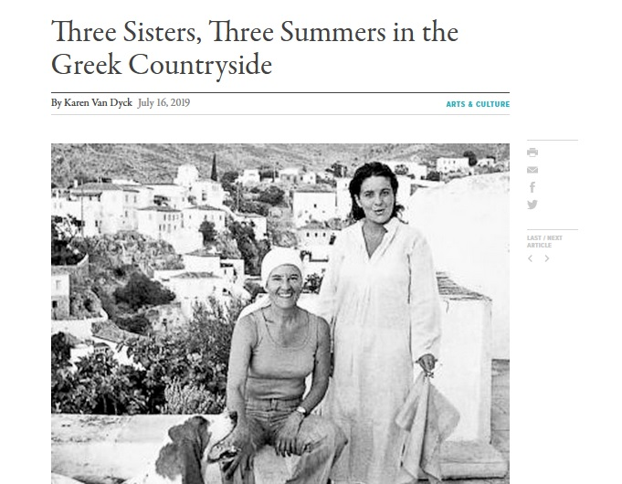 "Margarita Lymberaki's famous novel ""Three Summers"" in English thanks to Karen Van Dyke"