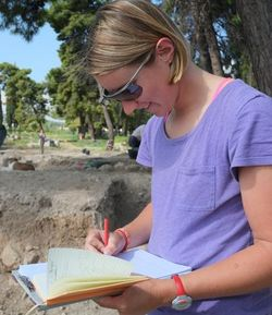 Corinth Excavations 2014 and Google Glass