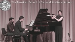 VIDEOCAST - Connections: A Flute & Piano Recital in the Greek & American Spirit