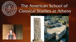 "VIDEOCAST - Barbara Tsakirgis, ""Houses around the Athenian Agora. New Thoughts on Old Mosaics"""