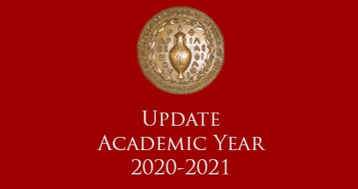 Update about the 2020-2021 Academic Year