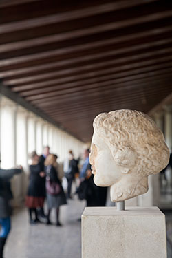 Upper Floor of Agora's Stoa of Attalos Reopens to Public