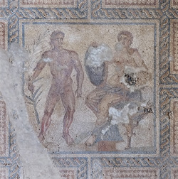 Eutychia Mosaic Conservation Continues