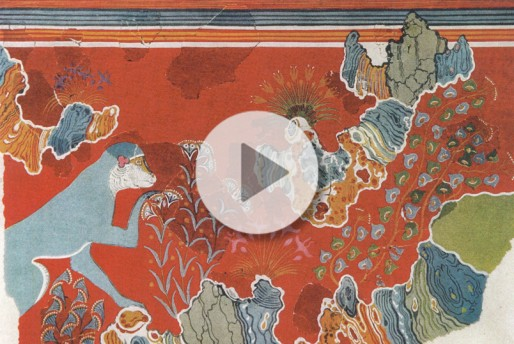 Webinar - Beyond Iconography: The Frescoes from the House of the Frescoes at Knossos