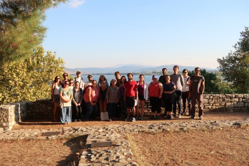 Traveling North to Thassos: School Members on Trip 1