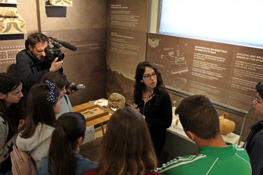 Ancient Corinth Welcomes Students for Major Museum Education Program