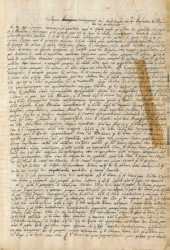 Gennadius Library acquires manuscript with eyewitness testimony of the 1826-1827 siege of Athens