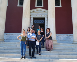 Graduate Students from the University of Athens at the ASCSA