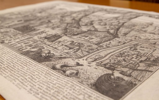 Gennadius Library acquires 18th century paper icon of Mount Sinai