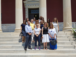 "Psychiatrists and psychotherapists from ""Antistixi"" Visit the ASCSA"