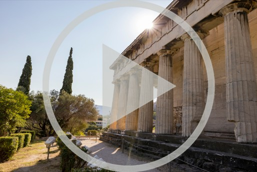Webinar - Live from the Agora - The Temple of Hephaestus